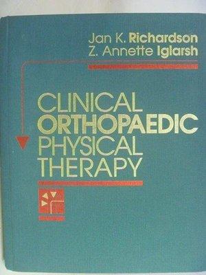 【月界二手書店2】Clinical Orthopaedic Physical Therapy 〖大學理工醫〗AEN