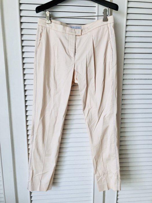 原價近五萬 FABIANA FILIPPI 米白側邊金線寬管闊腿褲