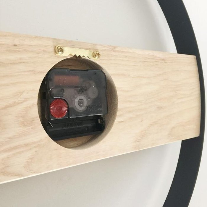 麥麥部落 北歐掛鐘客廳鐘簡約式式裝飾個性鐘錶創意錶北歐風現代極簡藝MB9D8