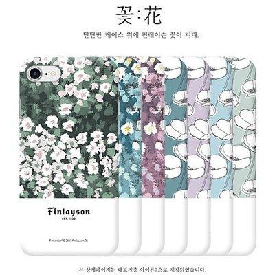 Finlayson 花朵 硬殼 手機殼│iPhone X XS MAX XR│z8345