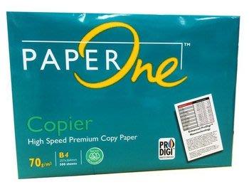 【小智】PAPER ONE B4影印紙 (新品未用 含稅出清價)70磅