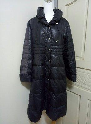 (965)日系品牌otto長版羽絨外套