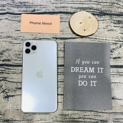 PHONE NEED 二手-iPhone11 Pro Max 256G 白色 功能正常 更換過螢幕 如圖 店家保固一個月