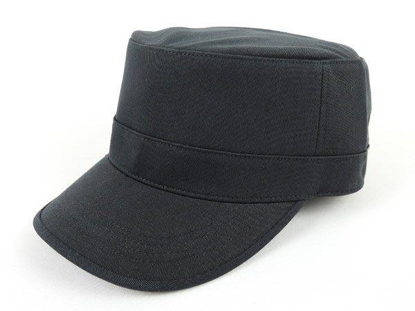 【二鹿帽飾】新款廚師帽 -加高硬挺最新潮流時尚新風格 /素色 硬挺 軍帽-MIT-鐵灰