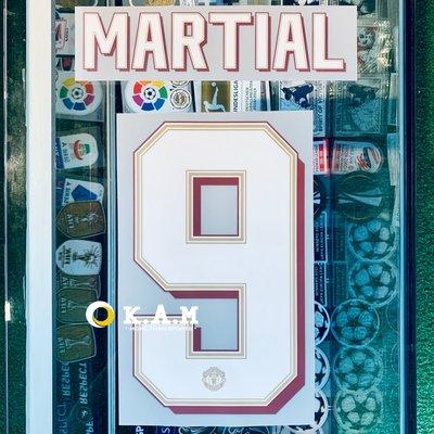 21-20 賽季 曼聯 主場 球員版 杯賽印號 MARTIAL 9