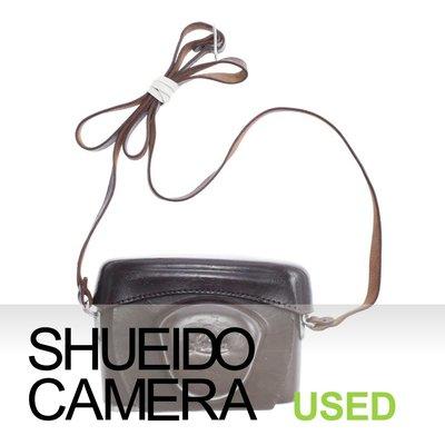 集英堂写真機【1個月保固】良上品 稀有 ! LEICA 原廠 皮製 皮套 + 背帶 LEICA M3 早期 15058