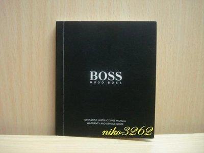 :: NiKo HoUsE ::【Boss】原廠保證書
