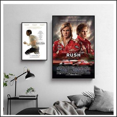 把愛找回來 決戰終點線 Rush 自由之心 電影海報 藝術微噴 掛畫 嵌框畫 @Movie PoP 賣場多款海報#