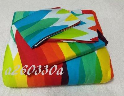 全新La mode專櫃100%天絲(萊賽爾)標準雙人4件式鋪棉被套床包組【繽紛假期】-24680元