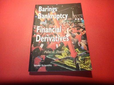 【愛悅二手書坊 30-11】barings Bankruptcy and Financial Derivatives