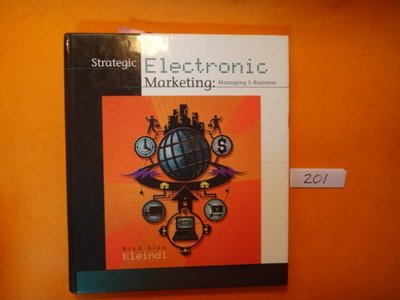 【愛悅二手書坊 13-50】Strategic Electronic Marketing in Managing E-Business