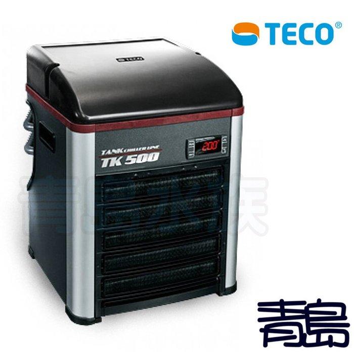 Q。。。青島水族。。。K-91義大利TECO東元-----冷卻機 冷水機 恆溫機 冷暖機 最新款==TK500-1/6P