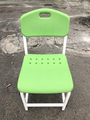 東鼎二手家具 全新品蘋果綠補習班課椅(另有橘色)*兒童讀書椅*書桌椅*幼兒椅*課桌椅*補習班椅*洽談椅*課椅*335-4