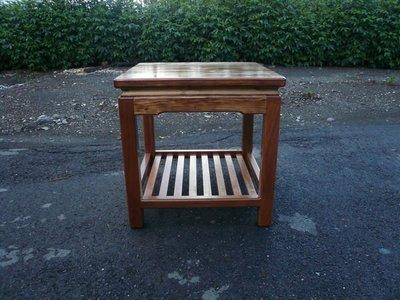 C001 {崙頂傳統原木家具行}~杉木古式小茶几桌長66 寬42 高48