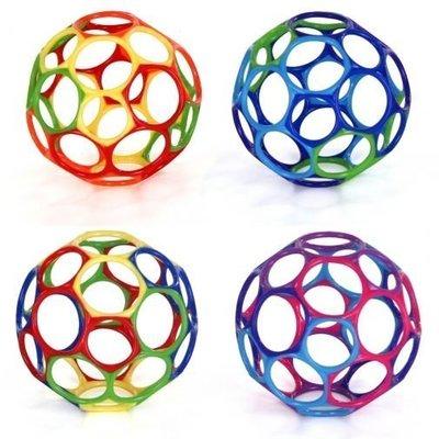 [小寶的媽] Kids II Oball 4吋洞動球經典款/魔力洞洞球 魔力洞動球-4吋魔力洞動球(玩具)