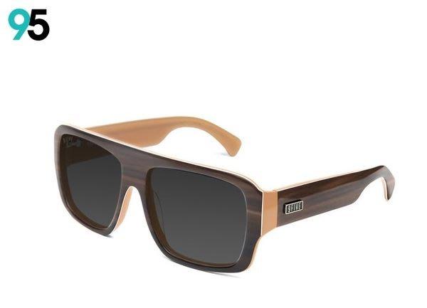 { POISON } 9FIVE TIPS WOOD 木質紋配色 美國西岸風格太陽眼鏡品牌