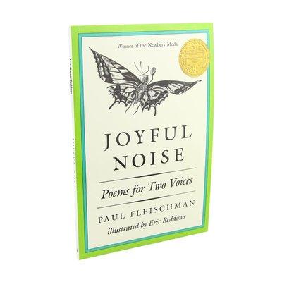 快樂的喧囂 兩個聲音一起讀的詩 英文 Joyful Noise Poems for Two Voices 1989年紐伯