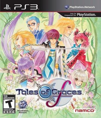 【二手遊戲】PS3 時空幻境 美德傳奇F Tales of Graces F BEST版 日文版【台中恐龍電玩】