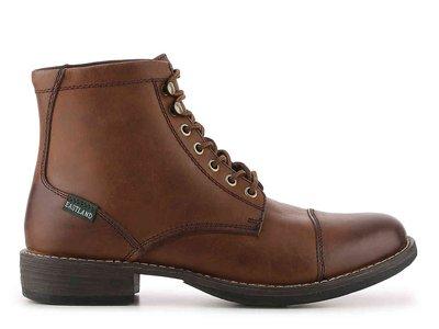 Eastland high fidelity cap toe boots 男生真皮短靴皮鞋 US 9.5
