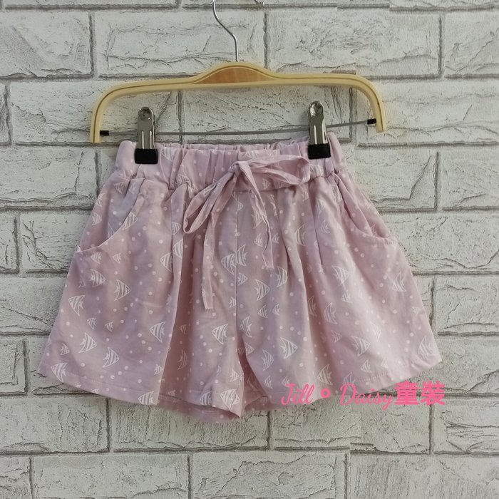 Jill。Daisy童裝 中大童透氣軟棉麻褲裙 (TW017)