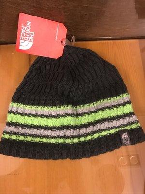 全新 歐洲帶回 The North Face 綠色 毛帽/針織帽 one size Taille unique 有雷標