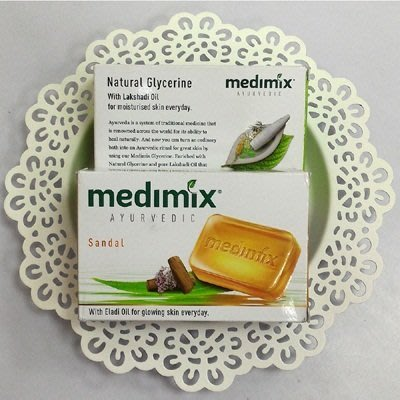 印度MEDIMIX草本檀香皂(橘色125克)【AI05009】香皂 肥皂 美膚皂 沐浴乳 嬰兒皂 99愛買