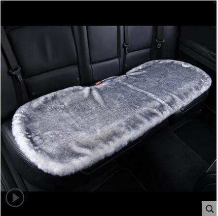 汽車坐墊冬季毛絨單片保暖后排