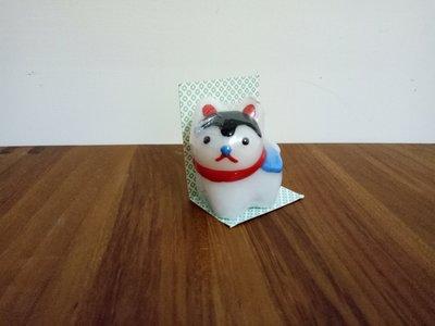 天使熊雜貨小舖~日本帶回造型蠟燭 現貨:狗狗款式 ~全新現貨
