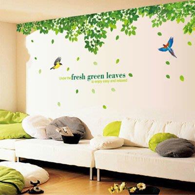創意壁貼-樹林(2張入) AY233AB-916【AF01013-916】JC雜貨