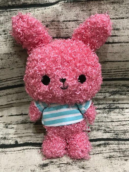 *凱西小舖*日本進口正版SAN-X chou-fieur捲捲毛兔/花椰兔造型玩偶