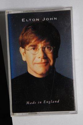 錄音帶 / 卡帶 / Q15/英文/艾爾頓 強/ Elton John/ 英國製/ made in ENGLAND/非CD非黑膠