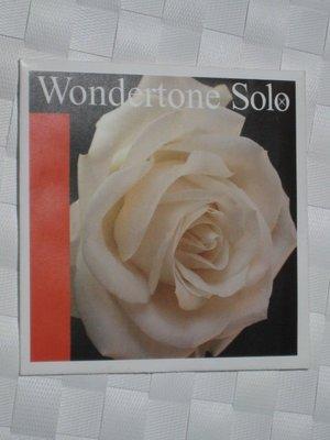 【~雅各樂器~】德國 Wondertone Solo violin string 小提琴弦