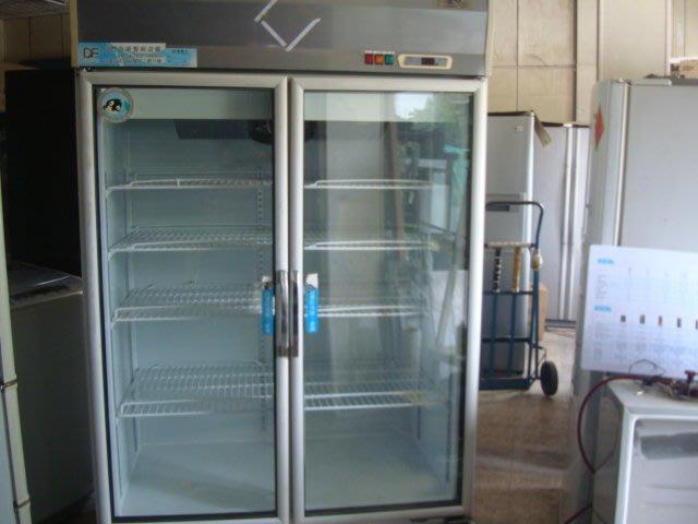 萬丹電器醫生*中古220v二手雙門玻璃飲料櫃1300公升型5層