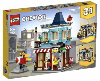 Lego Creator 31105 Townhouse Toy Store 3 in 1 2020 554 pcs