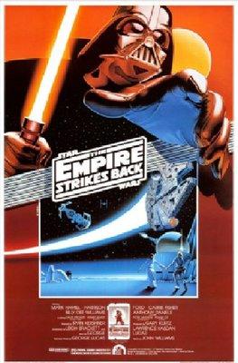 星際大戰五部曲:帝國大反擊10週年(1980)1990紀念版電影海報