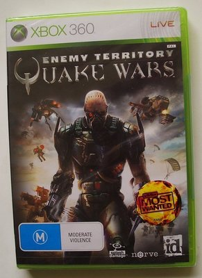全新XBOX360 雷神之戰 QUAKE WARS