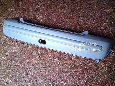 ※寶捷國際※ 2000 BMW MINI R50 COOPER 後保桿 無鍍鉻飾條孔 台灣製造