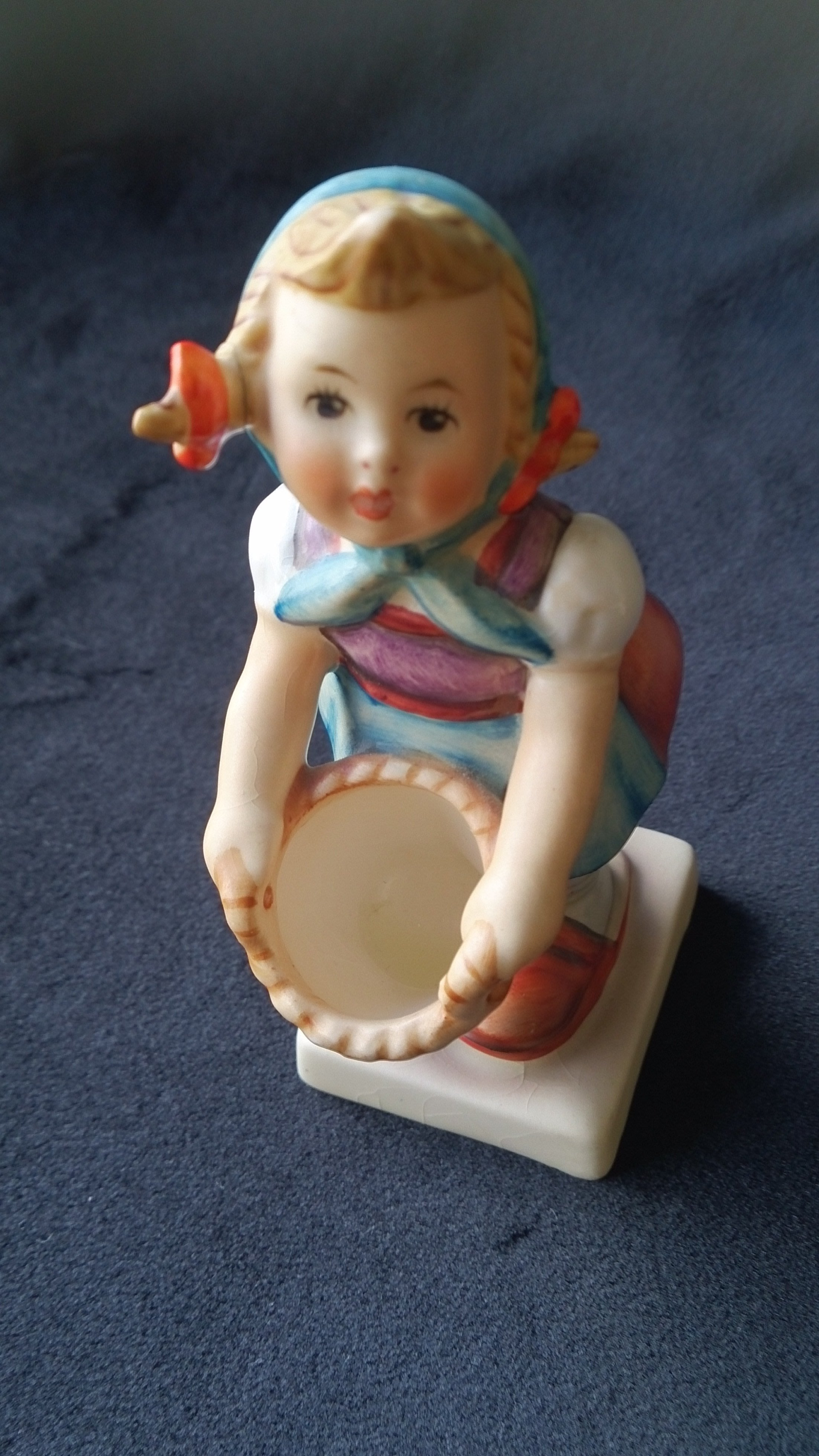 ❃A&EJ Studio❃德國製Goebel-Hummel-Figurine-Tmk3-Little-Helper