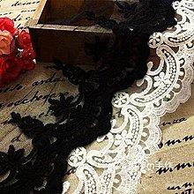 『ღIAsa 愛莎ღ手作雜貨』民族風網紗棉刺繡蕾絲花邊裙邊袖邊婚紗家居布藝DIY寬15cm