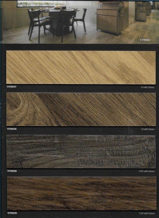 ABC風華再現系列~長條木紋塑膠地板每坪1700元起~時尚塑膠地板賴桑