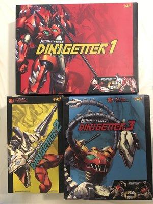 超合金 千值練 Sentinel Metamor Force Dino Getter 恐龍 三一萬能俠