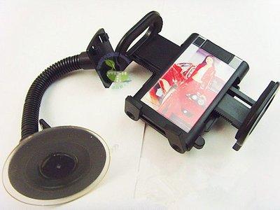 多功能汽車手機架手機座GPS導航架GPS支架可調節 旋轉架萬用支架 【希望種子購物網】