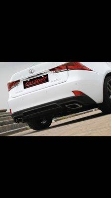 Lexus is300  is300h is200t f sport 後下巴 尾飾管