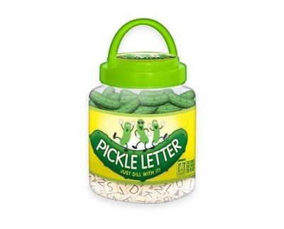 大安殿實體店面 免運附中文規則 Pickle Letter酸黃瓜 字母配對遊戲 正版益智桌上遊戲