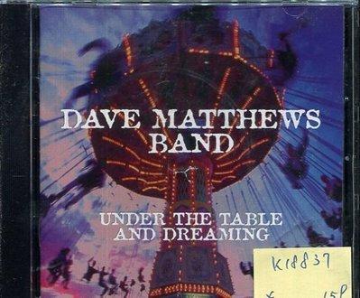 *真音樂* DAVE MATTHEWS BAND / UNDER THE TABLE 二手 K18837 (封面底破)