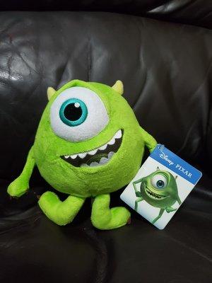 "Wellcome Disney Pixar x 惠康 迪士尼彼思 反斗奇兵 - Mike ""單眼仔 大眼仔"" 毛公仔 擺設"