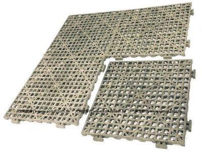 EZMAT TD-01 橡膠小格紋防滑板 耐日曬雨淋 室外鋪設地墊 倉庫防潮塑膠棧板 工業棧板 防潮