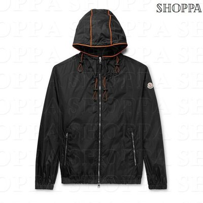 【SHOPPA】MONCLER Fier 尼龍 連帽 外套 8春夏 男款 黑色