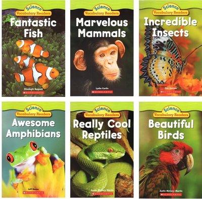 Science Vocabulary Readers 學樂啟蒙兒童科普書30冊