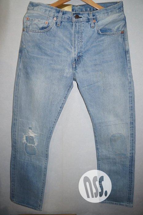 特價「NSS』LEVIS LEVI'S LVC 67505 0111 水洗 破壞 牛仔褲 大E W32 W33